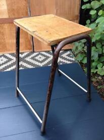 Vintage stool / science lab school