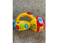 Vtech spin and learn colours flashlight torch