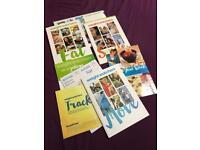 Weight watchers starter books