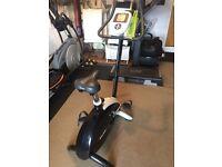 Reebok i-Bike SE exercise bike c/w manual and power adaptor