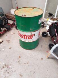 40 gallon castrol barrel