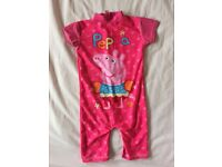 Peppa Pig all in one swim suit 2-3