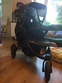 Hauck double buggy