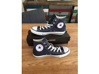 Converse All star Hi Navy Unisex brand new