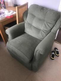 Gplan green chair