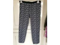 Topshop Paisley print trousers