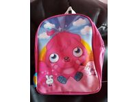 Kids character backpack selection