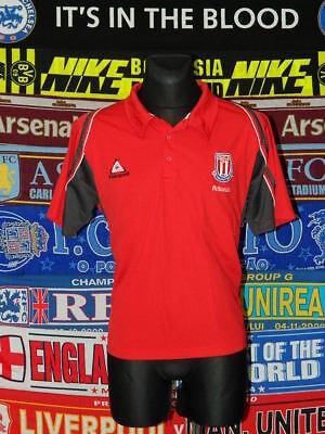 d1059e0a6 5 5 Stoke City adults XL leisure polo football shirt jersey trikot soccer