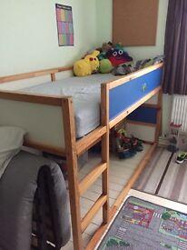 Children's ikea tent bed
