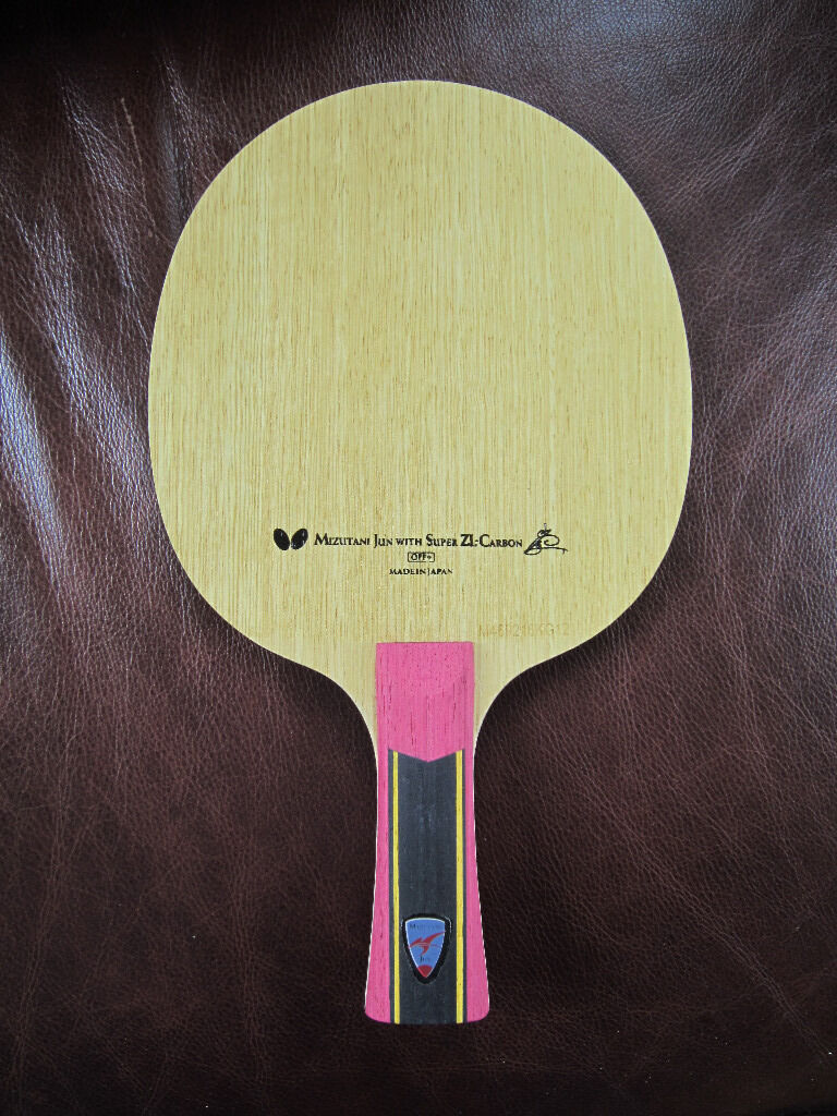 Table Tennis Blade Jun Mizutani Super Zlc Off Blade In
