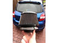 Genuine K&N 57-0651 Carbon Fibre Air Filter for Clio MK3's