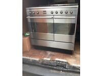 Smeg 5 burner gas cooker