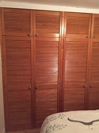 4 large 4 smaller louvre doors