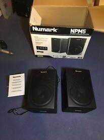 Numark speakers