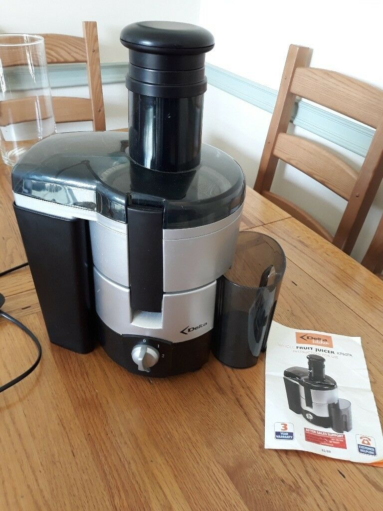 Delta Kitchen Whole Fruit Juicer New