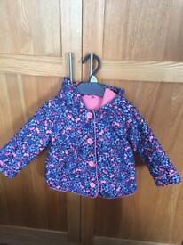 Beautiful baby girl coat 9-12 months