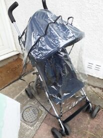 Pushchair stroller for sale with rain cover