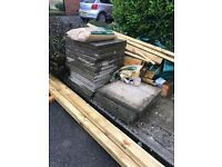 """**Update - """"SOLD"""" 18 Free paving slabs - Collection Only"""