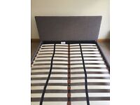 Next King Size double bed frame. Near new condition, fits in standard car