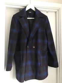 Misguided Tartan Jacket