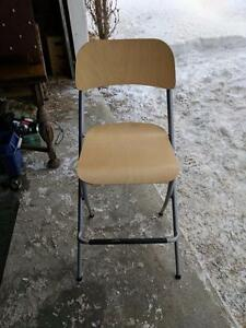 Like new folding bar stools