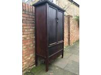 Antique Chinese style cupboard wardrobe