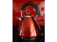Kettle, Morphy Richards Accents range, red