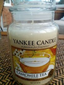Yankee Candle - Camomile Tea large jar - rare and sought after!