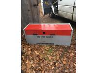 Metal tool chest for van