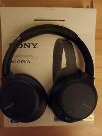 Sony WH-CH710N NoiseCancelling Wireless Over-Ear Headphones - Black