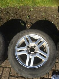 "Ford Focus 15"" Alloy and Pirelli Tyre"