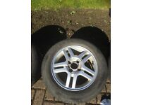 """Ford Focus 15"""" Alloy and Pirelli Tyre"""