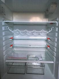 AEG fridge freezer, freestanding, fully working, twin compressor - RARE