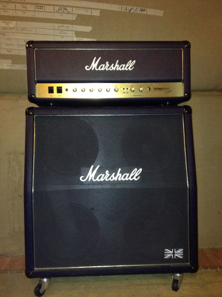 Marshall Vintage Modern 2466 with 425a model 4x12 Marshall Cab ...