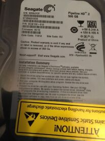 Hard Drive 500 gb sata 3.5 x2