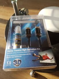 Brand new unopened - home theatre high definition kit