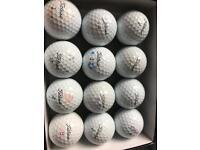 1 Dozen Titleist Pro V1/1x Grade B Golf Balls