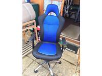 Gaming swivel chair