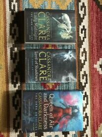 Complete set of 'The Dark Artifices' As brand new