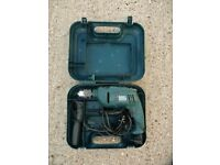Black & Decker Electric Drill and Hammer Drill Power Tool with Case and Accessories