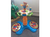 Vtech sit to stand dancing bear tower