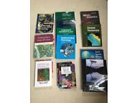 Geology textbooks Earth mineralogy study books