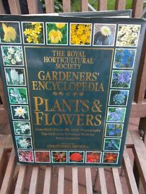 Royal Horticultural Society encyclopedia of plants & flowers - book