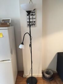 Floor lamp, only a few months old, IMMACULATE