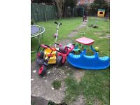 Free kids garden toys must go today