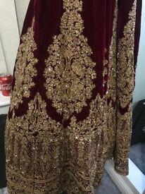 Stunning Asian bridal dress