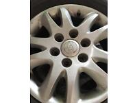17 inch 6 stud 5 alloy wheels in excellent condition with 5 tyres going cheap