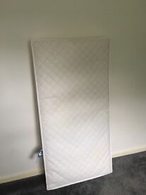 Cot bed/toddler bed mattress