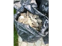 19 bags of hardcore/rubble