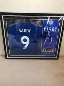 Jamie Vardy Signed Shirt with COA